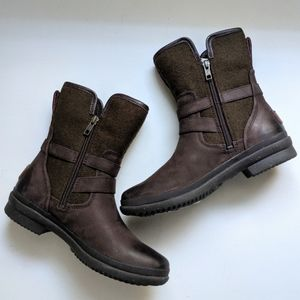 NWT UGG Simmens Waterproof Leather Stout Boot 6